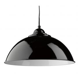 Pendule, Lustre suspendate - Pendul metalic design modern Fusion negru