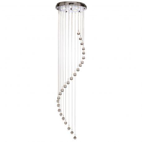 Corpuri de iluminat Lustre pentru casa scarii - Lustra cristal casa scarii design modern Hallway 5L