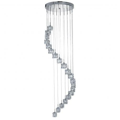 Corpuri de iluminat Lustre pentru casa scarii - Lustra LED casa scarii design modern Ice Cube H-3M