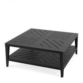 Mese - Masuta pentru interior si exterior Bell Rive negru, 100x100cm