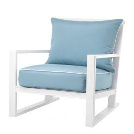 Fotolii - Fotoliu pentru interior si exterior Como, alb