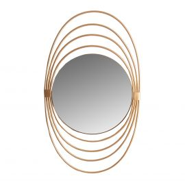 Oglinzi - Oglinda decorativa design Art Deco Plaue, 54x91cm