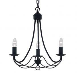 Candelabre, Lustre - Candelabru traditional stil clasic Maypole negru 3L
