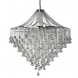 Lustra cristal casa scarii design LUX Dorchester 7L