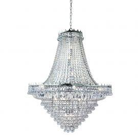 Corpuri de iluminat Lustre pentru casa scarii - Lustra XXL cristal casa scarii design LUX Versailles 19L