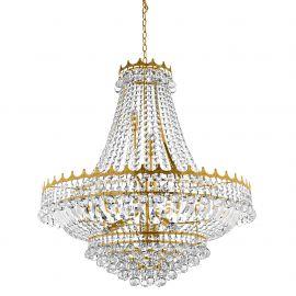 Lustra XXL cristal casa scarii design LUX Versailles 13L