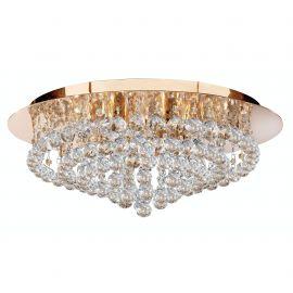 Lustra eleganta design modern Hanna gold 8L