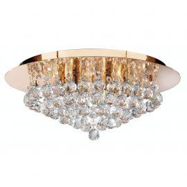 Lustra eleganta design modern Hanna gold 6L