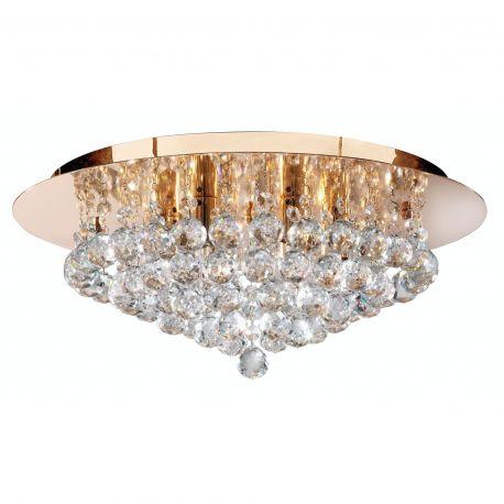 Lustre aplicate - Lustra eleganta design modern Hanna gold 6L