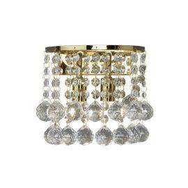 Aplice, corpuri de iluminat pentru pereti - Aplica perete eleganta design modern Hanna gold