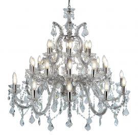 Corpuri de iluminat Lustre pentru casa scarii - Candelabru XXL casa scarii design clasic Marie Theresea 30L