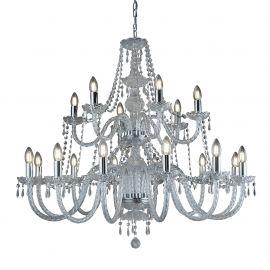 Corpuri de iluminat Lustre pentru casa scarii - Candelabru XXL casa scarii design clasic Hale 18L