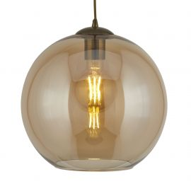 Pendule, Lustre suspendate - Pendul design modern Ø25cm Balls chihlimbar