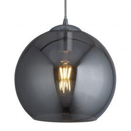 Pendule, Lustre suspendate - Pendul design modern Ø25cm Balls crom / fumuriu