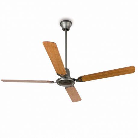 Lustre cu ventilator - Ventilator de tavan MALVINAS gri