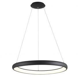 Pendule, Lustre suspendate - Lustra LED dimabila, design modern Albi negru, 81cm