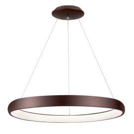 Pendule, Lustre suspendate - Lustra LED dimabila, design modern Albi maro, 61cm