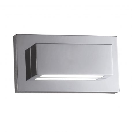 Aplice, corpuri de iluminat pentru pereti - Aplica LED moderna design ambiental minimalist Wall crom