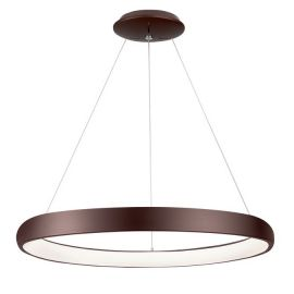 Lustra LED dimabila, design modern Albi maro, 81cm