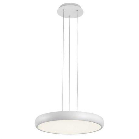 Pendule, Lustre suspendate - Lustra LED suspendata design modern Gap, alb