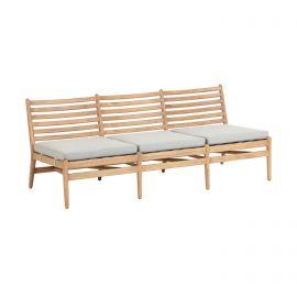 Canapea din lemn pentru exterior si interior Simja