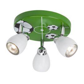 Iluminat pentru copii - Plafoniera cu 3 spoturi Soccer