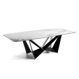 Mese dining - Masa design modern cu blat ceramic Ruby, 220x120cm