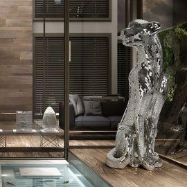 Statuete - Figurina decorativa design lux Leopard Baguira RIGHT
