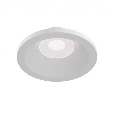 Iluminat pentru baie - Spot incastrabil cu protectie IP65 Zoom alb