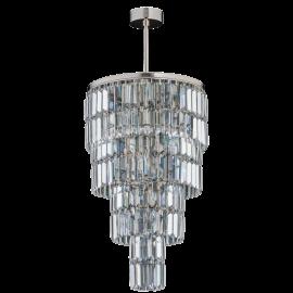 Corpuri de iluminat Lustre pentru casa scarii - Lustra LUX suspendata, realizata manual ELLINI diametru 35cm
