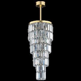 Corpuri de iluminat Lustre pentru casa scarii - Lustra LUX suspendata, realizata manual ELLINI diametru 25cm