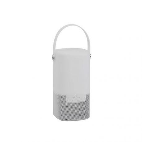 Lampi decorative si solare  - Lampa LED portabila design decorativ Ray alb