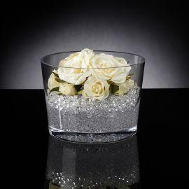 Aranjamente florale LUX - Aranjament floral PEARL ROSE BIG, WHITE