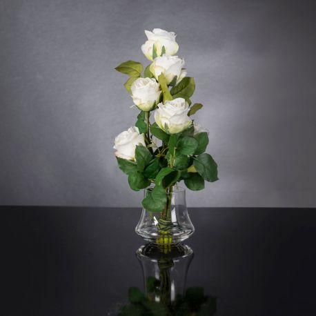 Aranjamente florale LUX - Aranjament floral design LUX ETERNITY MINIMES ROSES