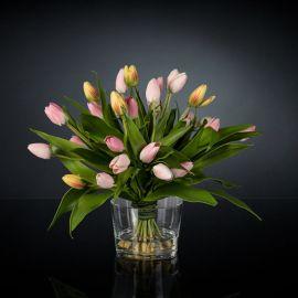 Aranjamente florale LUX - Aranjament floral design LUX ETERNITY BUNCH MIX ALFEO
