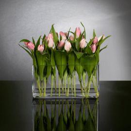 Aranjamente florale LUX - Aranjament floral design LUX ETERNITY RECTANGULAR MILOS