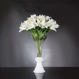 Aranjamente florale LUX - Aranjament floral mare design LUX VASE VANESSA LILIUM