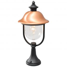 Stalpi - Stalp iluminat exterior rustic H 52cm Dubai