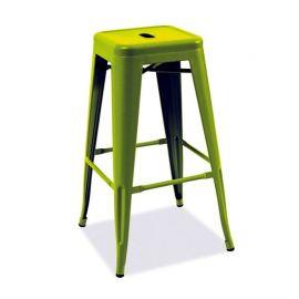Scaun bar Long verde inchis