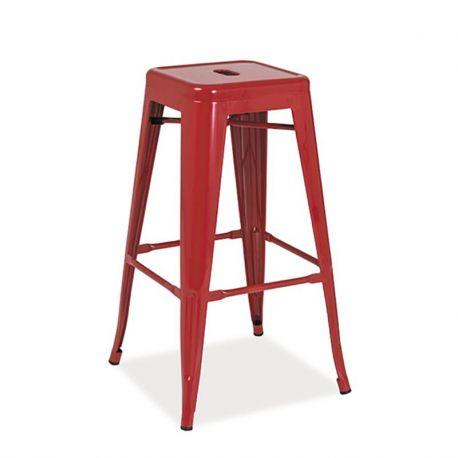 Scaune Bar - Scaun bar Long rosu