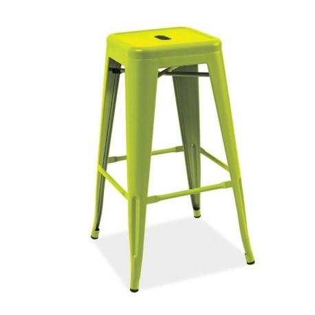 Scaune Bar - Scaun bar Long verde