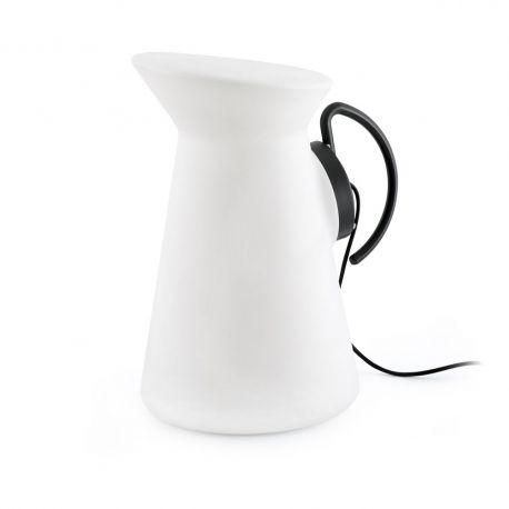 Lampi decorative si solare - Lampa portabila decorativa de exterior JARRETT gri