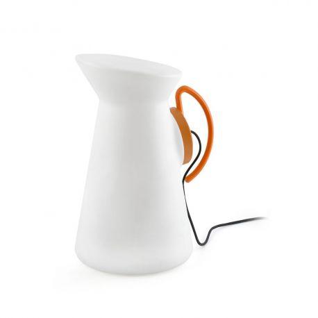 Lampi decorative si solare - Lampa portabila decorativa de exterior JARRETT orange