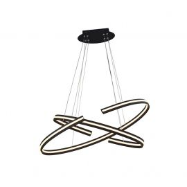 Candelabre, Lustre - Lustra LED dimabila, design modern Alessia DIMM, 80cm