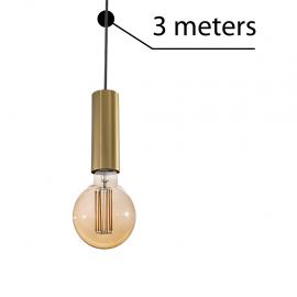 Pendule, Lustre suspendate - Accesoriu/ Cablu 3 metri cu dulie Ziko antique