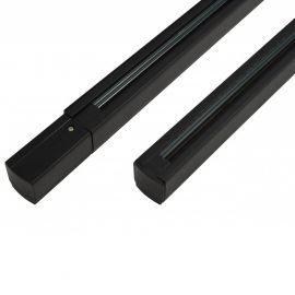 Proiectoare LED spatii comerciale - Sina trifazata neagra TRACK SET 1,5m