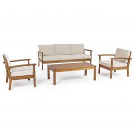 Mobilier terasa - Set, mobilier 4 piese pentru exterior REIMS