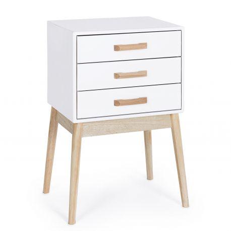 Noptiere - Dulapior cu 3 sertare design scandinav ORDINARY
