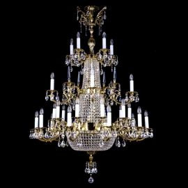 Lustre Cristal Bohemia - Candelabru XXL Cristal Exclusiv ARABELA dia. 1200x1700