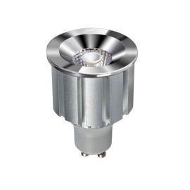 Becuri GU10 - Bec LED GU1O design decorativ Elegant Bulb 7W 3000K crom